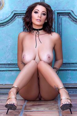 Ali Rose Nude In High Heels