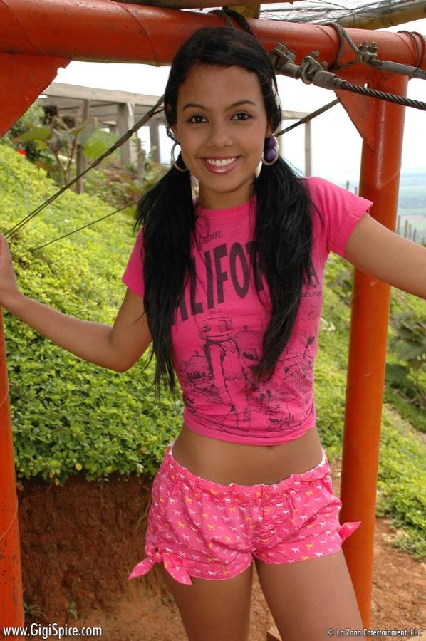 Laid now free latina teen
